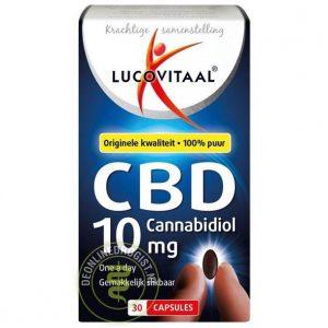 Lucovitaal CBD Cannabidiol 10mg Capsules