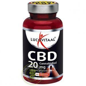 Lucovitaal CBD Cannabidiol 20mg Capsules