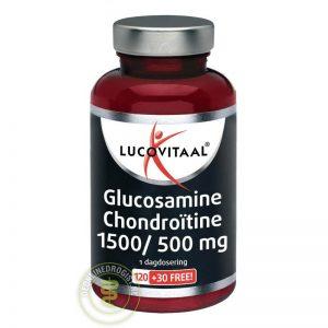 Lucovitaal Glucosamine Chondro_tine 1500/500mg Tabletten