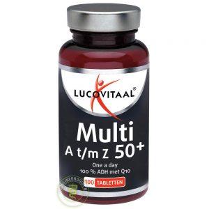 Lucovitaal Multi A t/m Z 50+ Q10 Tabletten