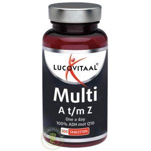 Lucovitaal Multi A t/m Z Q10 Tabletten