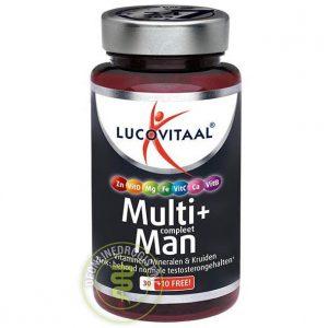 Lucovitaal Multi+ Compleet Man Tabletten