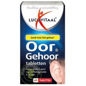 Lucovitaal Oor & Gehoor Tabletten