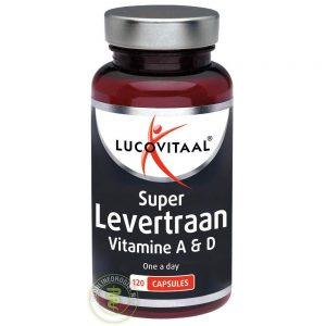 Lucovitaal Super Levertraan Vitamine A & D Capsules