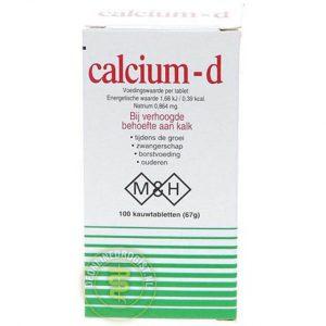 MH Pharma Calcium-D Kauwtabletten