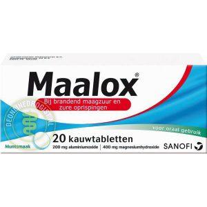 Maalox Kauwtabletten 20st