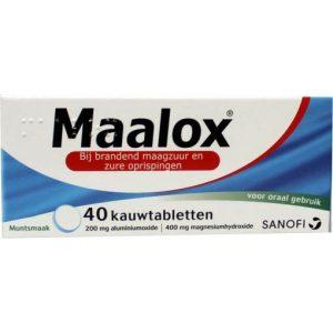 Maalox Kauwtabletten 40tb
