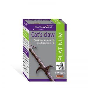 MannaVital Cat's Claw Platinum Capsules