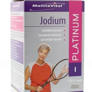 MannaVital Jodium Platinum Capsules