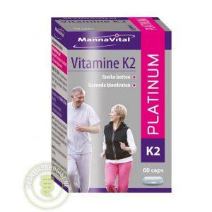 MannaVital Vitamine K2 Platinum Capsules