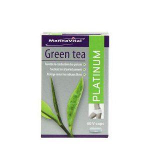Mannavital Green Tea Platinum Capsules 60st