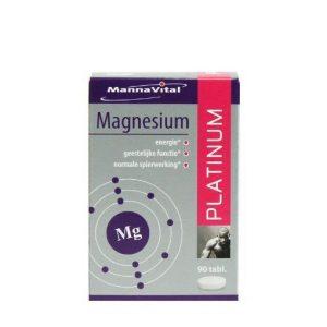 Mannavital Magnesium Platinum 90st