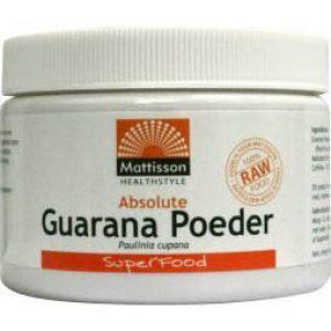 Mattisson HealthStyle Absolute Guarana Poeder 125gr