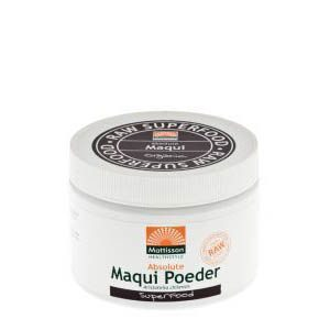 Mattisson HealthStyle Absolute Maqui Poeder 125gr