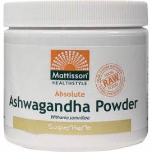 Mattisson HealthStyle Ashwagandha Poeder