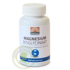 Mattisson HealthStyle Magnesium Bisglycinaat 100mg Tabletten