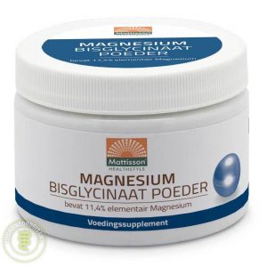 Mattisson HealthStyle Magnesium Bisglycinaat Poeder