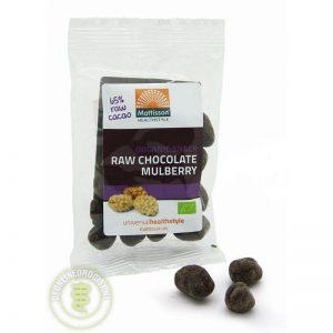 Mattisson HealthStyle Snack Mulberry Raw Chocolate