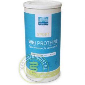 Mattisson HealthStyle Sport Wei Proteine Naturel 450gr
