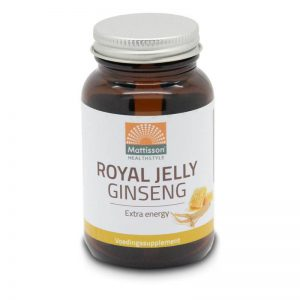 Mattisson Healthstyle Ginseng Royal Jelly Capsules