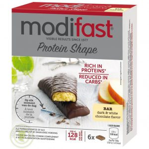 Modifast Protein Shape Snackreep Pure & Witte Chocolade