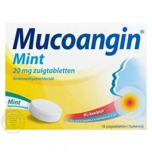Mucoangin Ambroxol Mint 20mg Tabletten