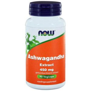 NOW Ashwagandha Extract 450mg Capsules