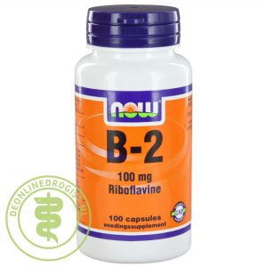 NOW B-2 100mg Capsules 100st