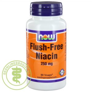 NOW Flush Free Niacine Capsules 90st