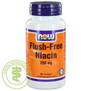 NOW Flush Free Niacine Capsules 90st