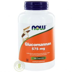 NOW Glucomannan 575mg Capsules 180st