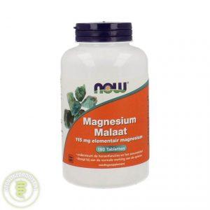 NOW Magnesium Malaat Tabletten 180st