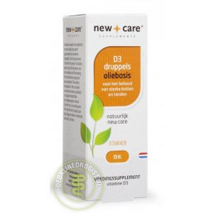 New Care D3 Oliebasis Druppels 25ml