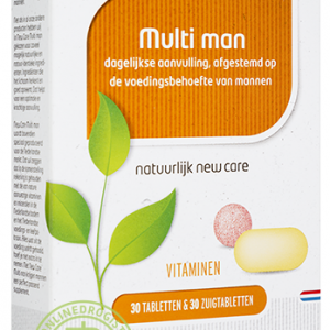 Newcare Multi Man 30 Tabletten & 30 Zuigtabletten