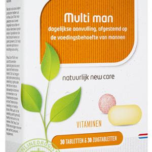 Newcare Multi Man 30 Tabletten & 30 Zuigtabletten