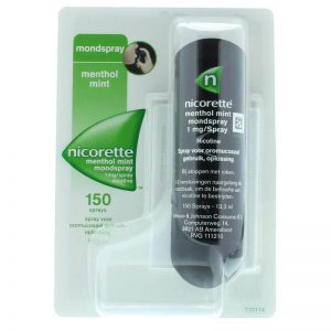 Nicorette Mondspray Mint 1mg