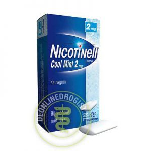 Nicotinell Kauwgom 2mg Cool Mint 48st