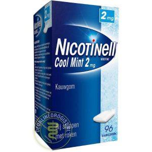 Nicotinell Kauwgom 2mg Cool Mint (Voordeelverpakking)