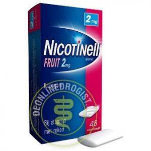 Nicotinell Kauwgom 2mg Fruitsmaak