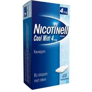 Nicotinell Kauwgom 4mg Cool Mint 48st