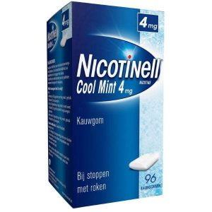 Nicotinell Kauwgom 4mg Cool Mint (Voordeelverpakking)