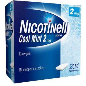Nicotinell Kauwgum 2mg Cool Mint 204st