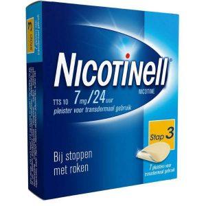 Nicotinell Pleisters TTS 10 7mg / 24uur