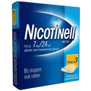 Nicotinell Pleisters TTS 10 7mg / 24uur (Voordeelverpakking)