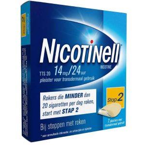 Nicotinell Pleisters TTS 20 14mg / 24uur