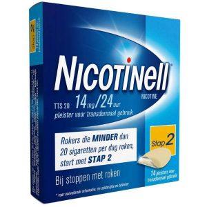 Nicotinell Pleisters TTS 20 14mg / 24uur (Voordeelverpakking)