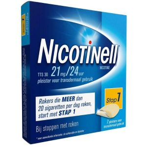 Nicotinell Pleisters TTS 30 21mg / 24uur