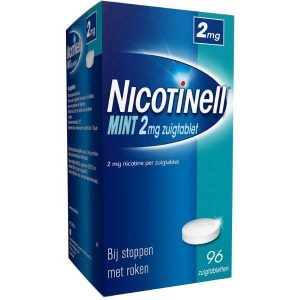 Nicotinell Zuigtabletten 2mg Mint 96st