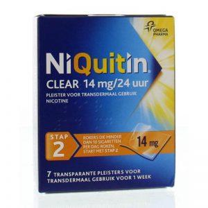 Niquitin Pleister 14mg Stap 2