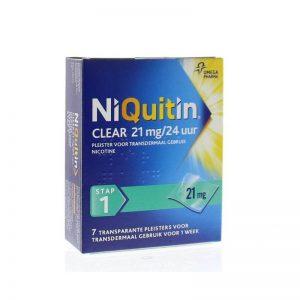 Niquitin Pleister 21mg Stap 1